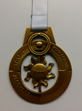 80mm Medal with Spinning Centre